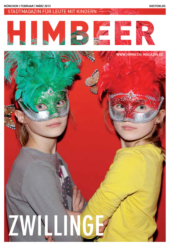 Himbeer Cover Zwillinge