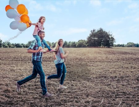 sponsored post, münchner bank, familie, luftballons // München mit Kind