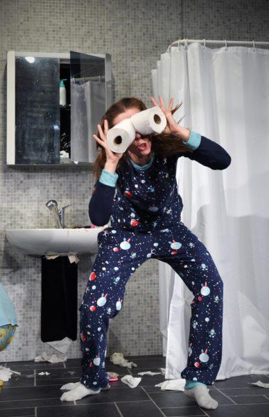 Tür zu, Schauburg, Toilettenpapier, Tipps für Regentage // München mit Kind
