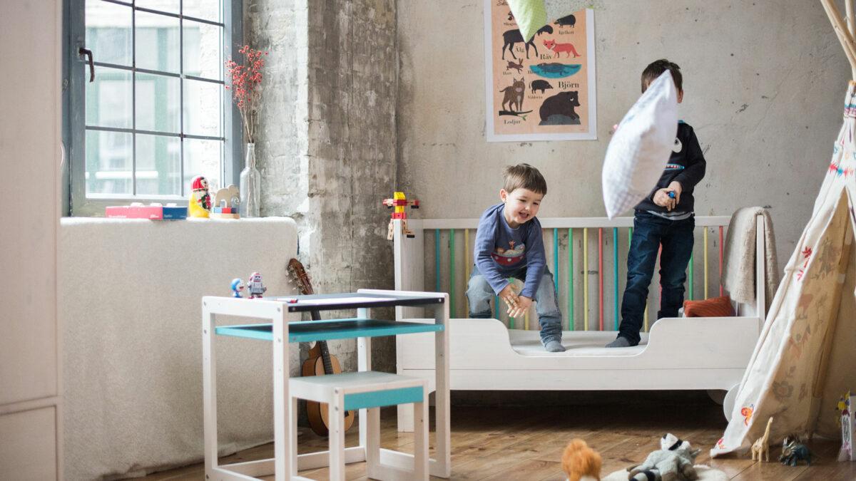 Mitwachsende Wiegen und Kinderbetten // HIMBEER