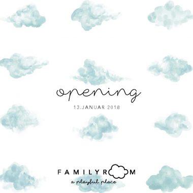 Flyer Familyroom opening