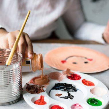 Kunst Kurse für Kinder // HIMBEER