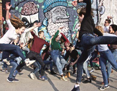 Tanzende Kinder Gärtnerplatztheater | München mit Kind