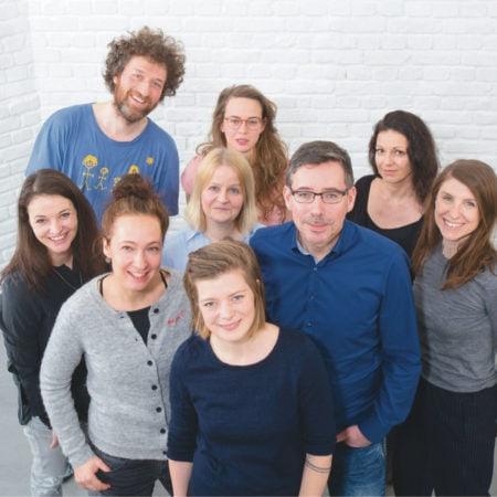 HIMBEER Verlag München Team