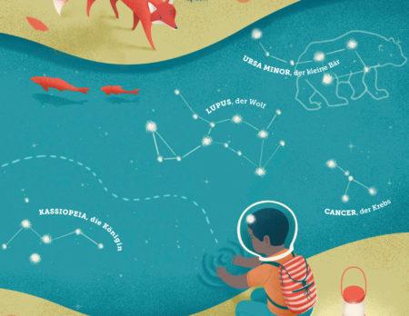 Sachbilderbuch für Kinder: Space Kids | Berlin mit Kind