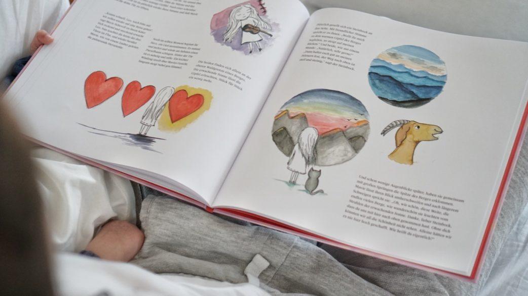 Blick ins Buch - das Haus mit der Herzenstür | Muenchen mit Kind