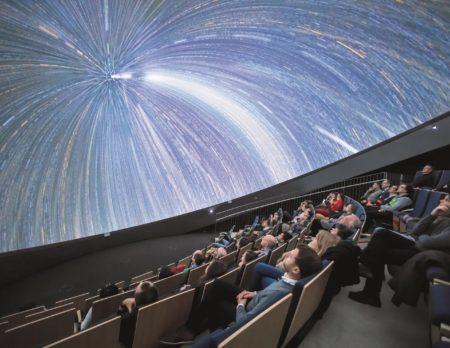 Supernova - neues Fulldome Planetarium eröffnet | Muenchen mit Kind