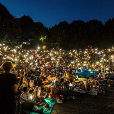 Kino Mond und Sterne Crowd Licher | München mit Kind
