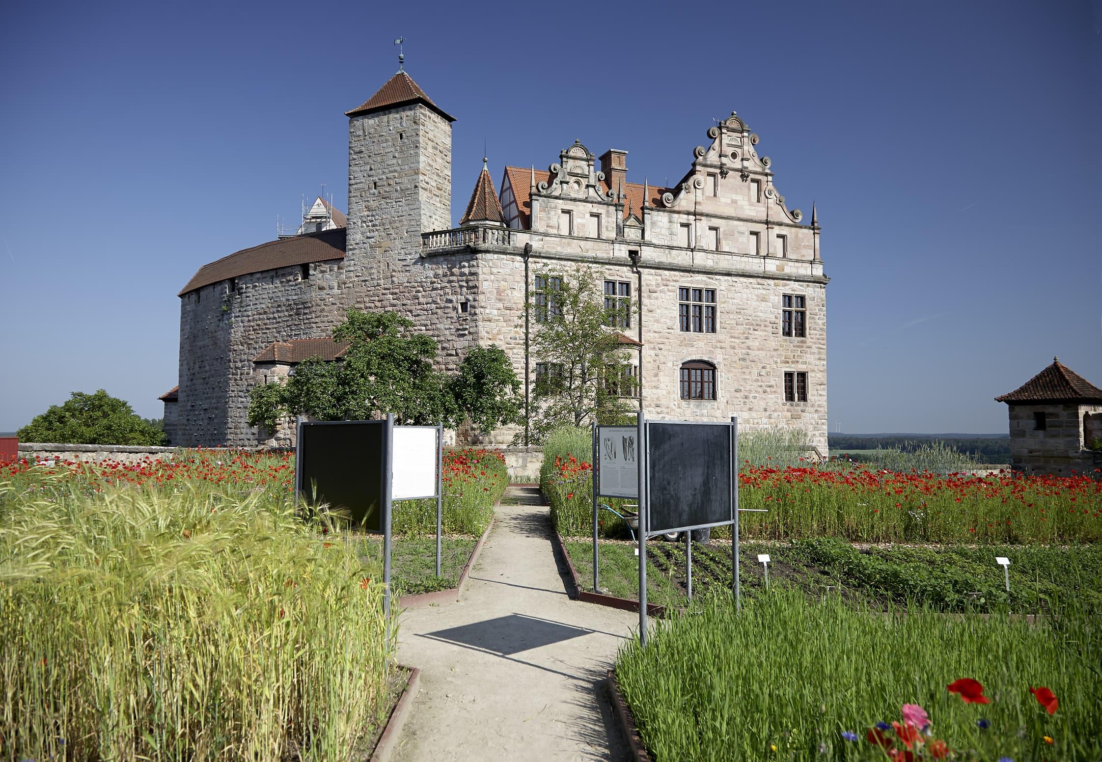 Schönes Ausflugsziel für ein Sommerwochenende: Cadolzburg bei Fürth // HIMBEER