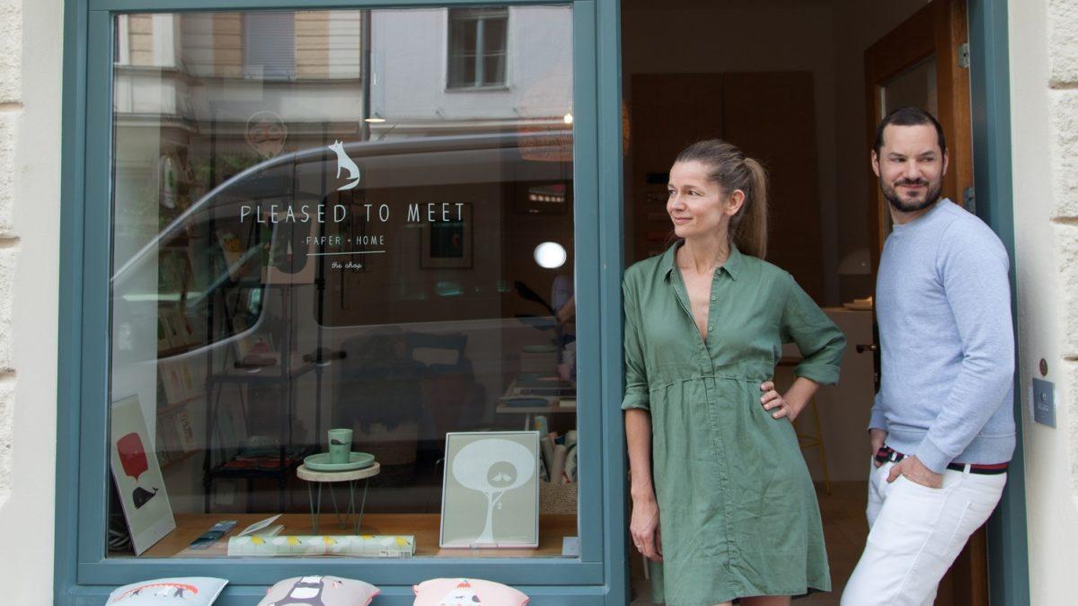 Ladeneröffnung von pleased to meet | Muenchen mit Kind