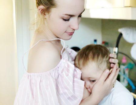 Jana mit Baby | München mit Kind