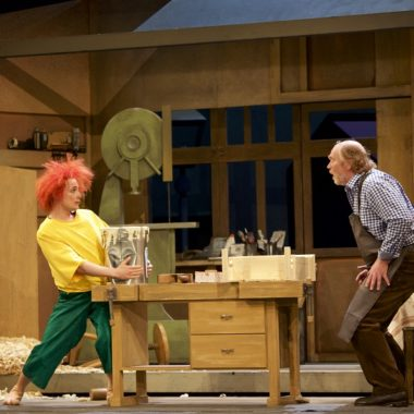 Pumuckl Meister Eder Szene Musical | Muenchen mit Kind