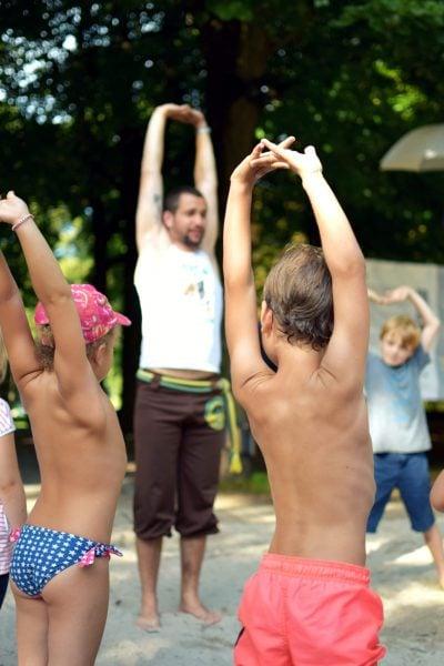 Kulturstrand Kinder Capoeira // HIMBEER