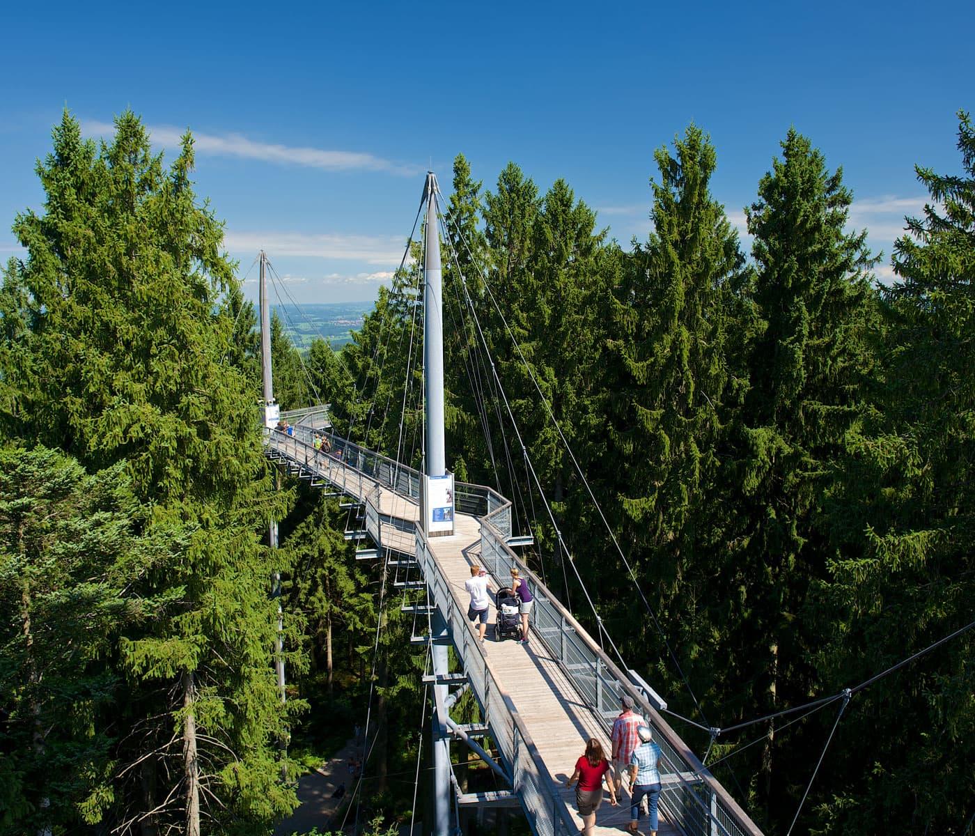 Familienausflug ins Voralpenland: Skywalk Allgäu // HIMBEER