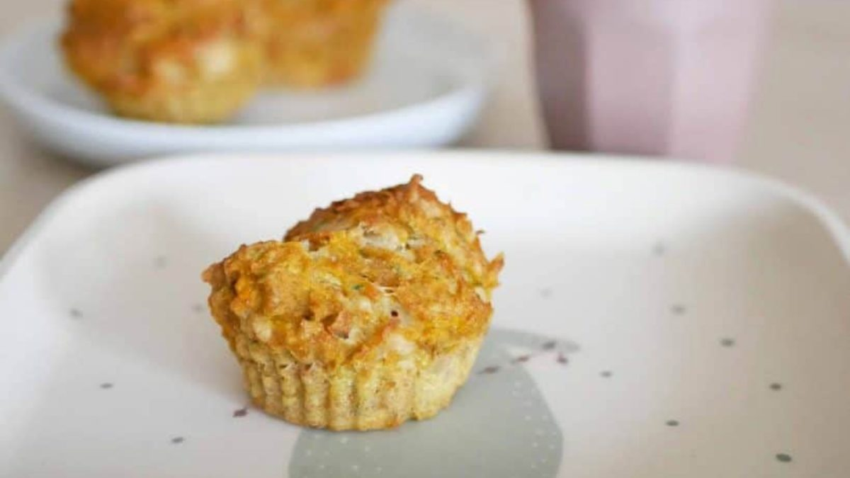 herzhafte Muffins fuer die Brotbox