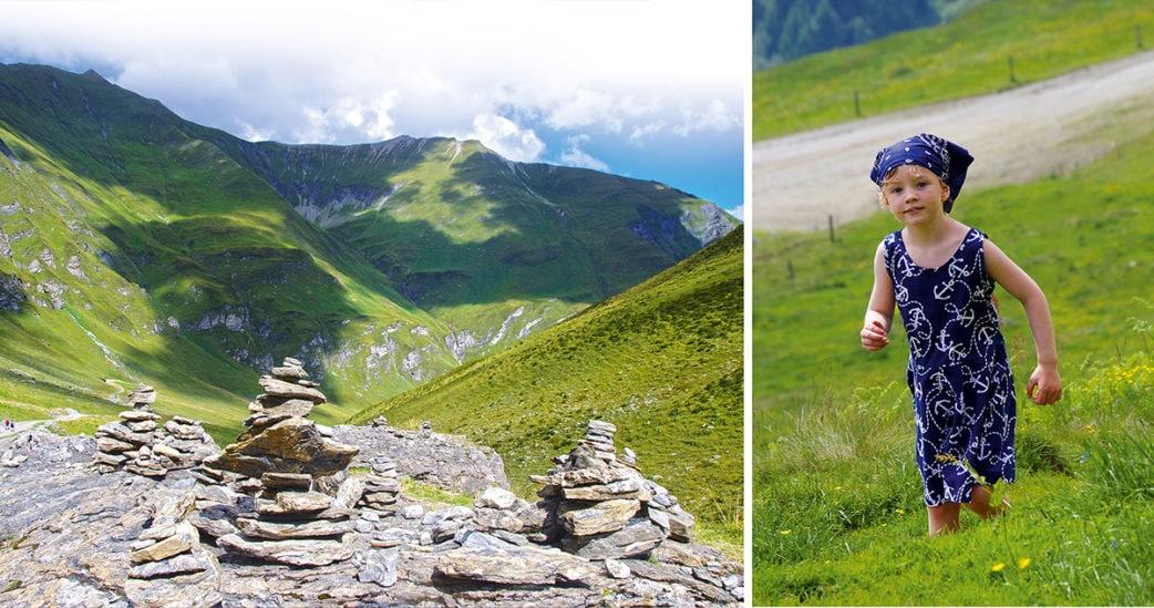 Berglandschaft in Tirol Kindern beim Wandern | München mit Kind