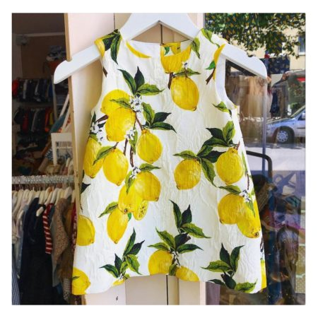 Kleid mit Zitrone | Muenchen mit Kind
