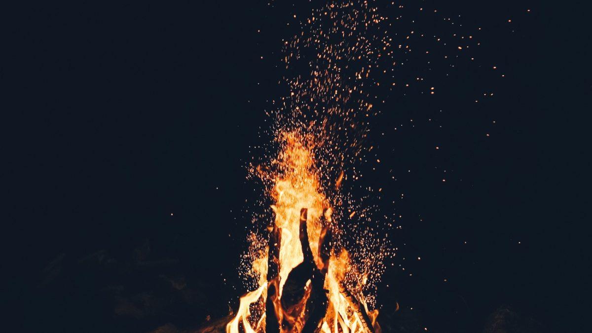 Lagerfeuer unsplash | Muenchen mit Kind
