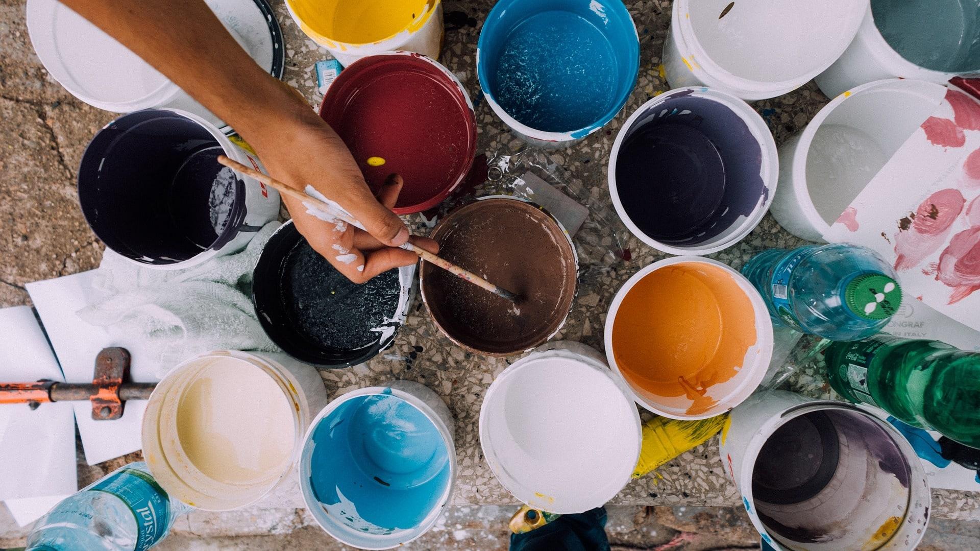 Kreativkurse Farben Sommerferien // HIMBEER