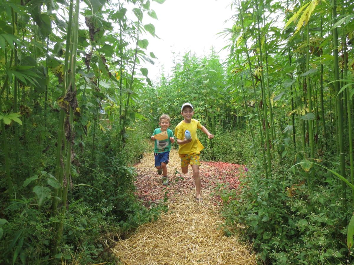 Labyrinthe sind ein großer Spaß für Kinder: Labyrinth Ex Ornamentis // Muenchen mit Kind