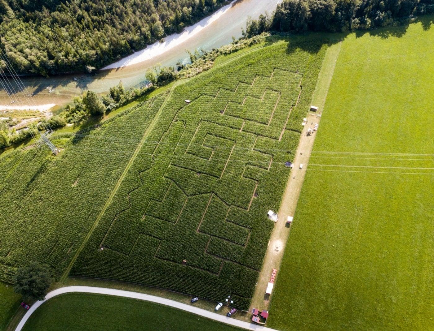 Labyrinth Aktivschaf Aktivhof Weihermuehle // HIMBEER