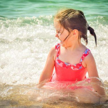 Mädchen im Wasser