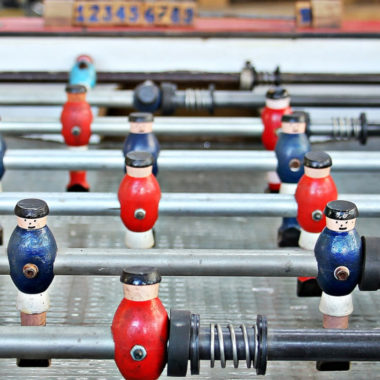 Tischkicker Figuren Hauptbahnhof | Muenchen mit Kind