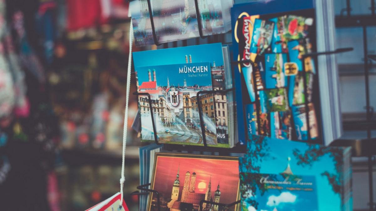 Postkarten Muenchen Sommer // HIMBEER