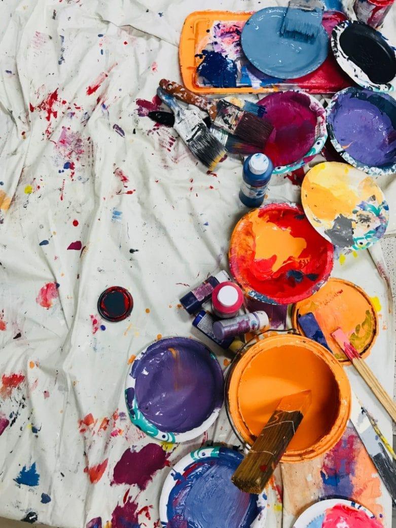 Farbe Kreativkurse Bunt // HIMBEER