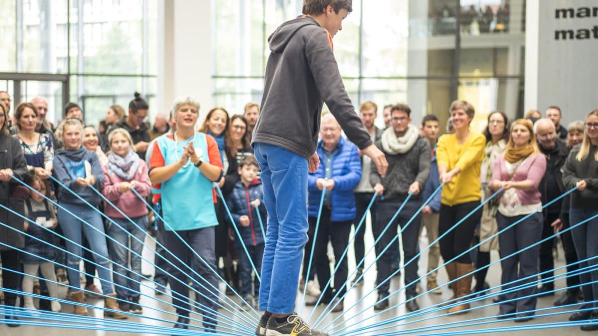 Togetthere-Xperience in der Pinakothek der Moderne mit vielen Familienangeboten // München mit Kind