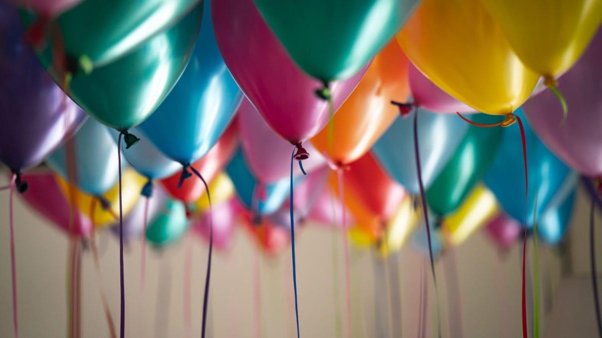 Luftballons Kindergeburtstag feiern // Muenchen mit Kind