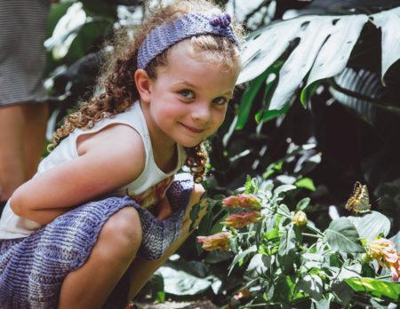 Maedchen Schmetterling Wochentipps // Muenchen mit Kind