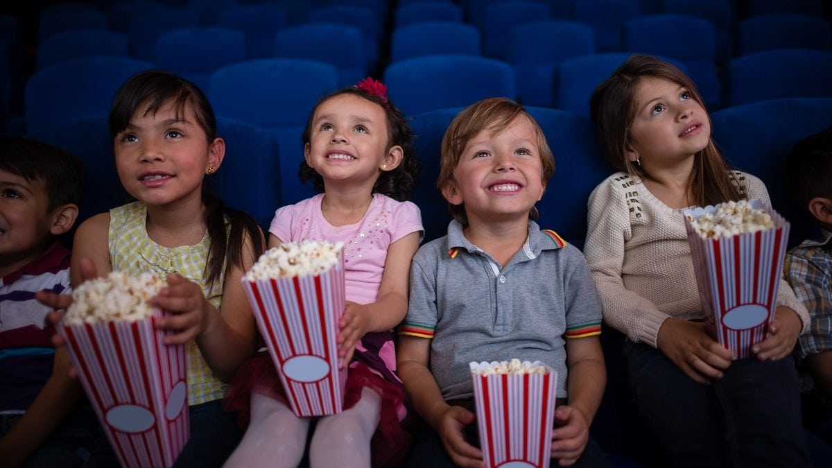 Grabschen Im Kino