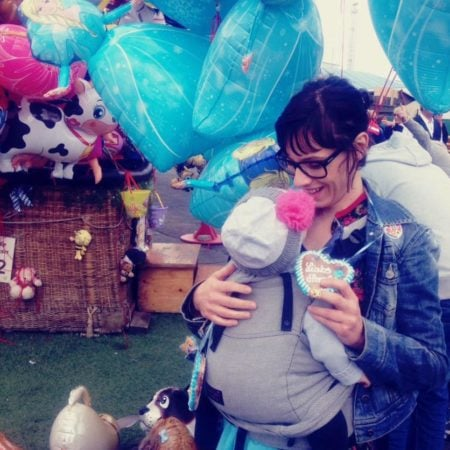 Eliane Retz, Luftballons, 7 Fragen an, Geborgenheit fürs Baby // München mit Kind