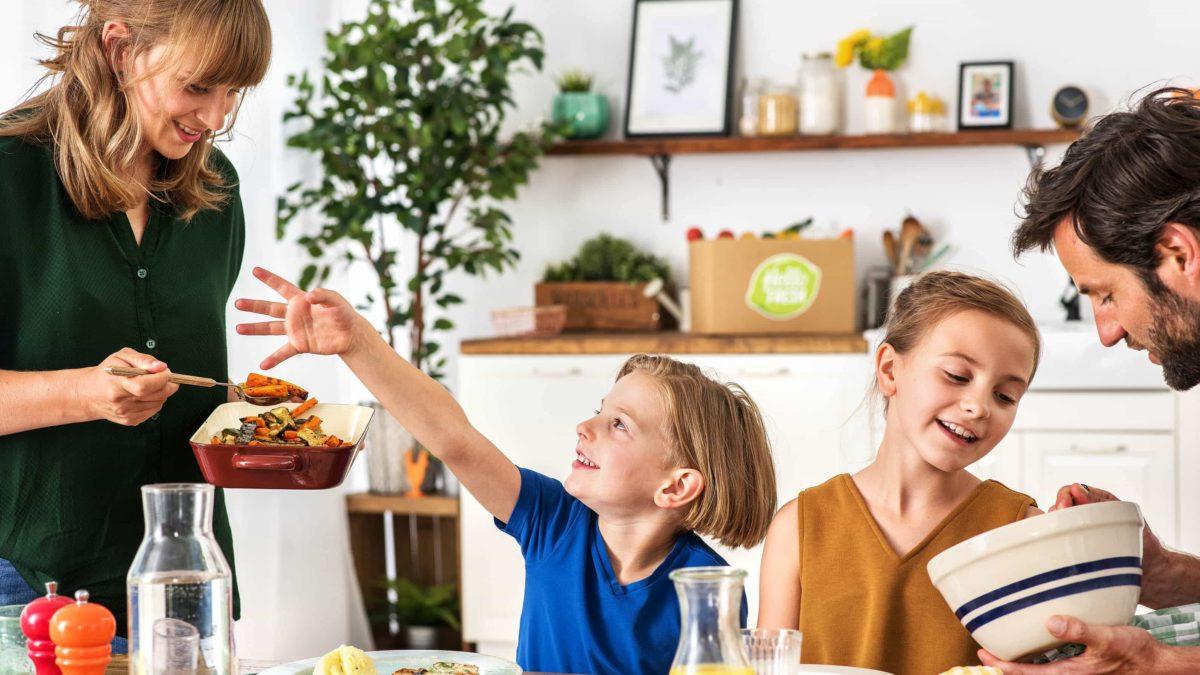Family Box von Hello Fresh im Familientest // HIMBEER