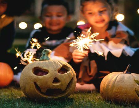 Halloween Kuerbisse Kinder // Muenchen mit Kind