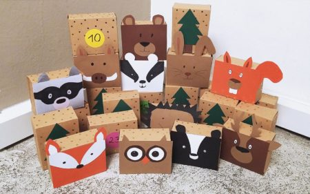 Adventskalender – Tiere im Wald // HIMBEER