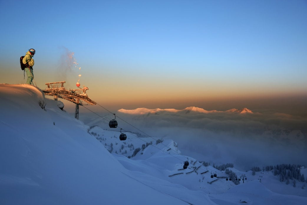 Skifahren mit Kindern in Österreich: Skigebiet Damüls-Mellau // HIMBEER