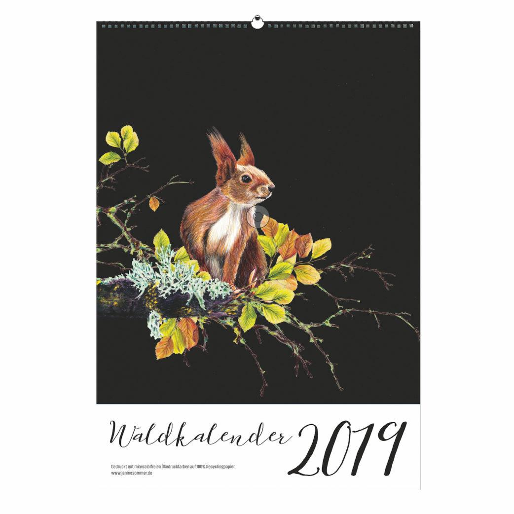 Lieblingssachen: Waldkalender von Janine Sommer // HIMBEER