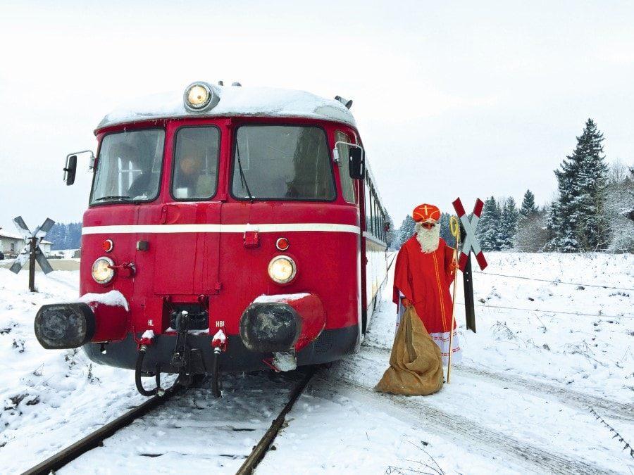 Nikolaus-Express Chiemgau // Muenchen mit Kind