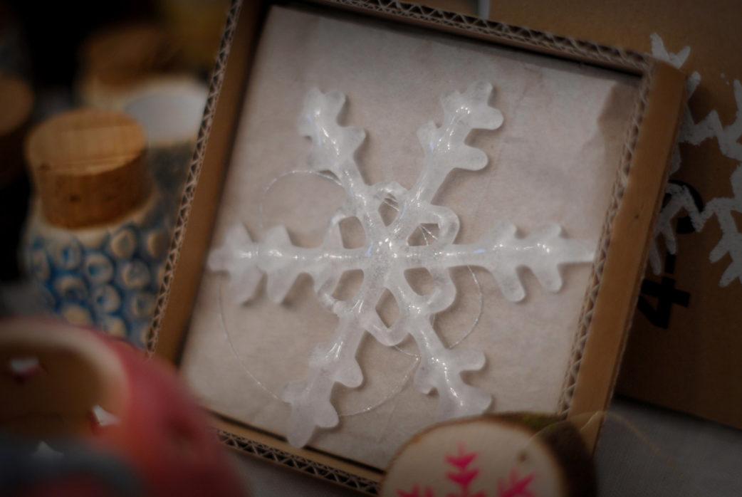 Weihnachtsmärkte Kekko kreativ, Glasmalerei // München mit Kind