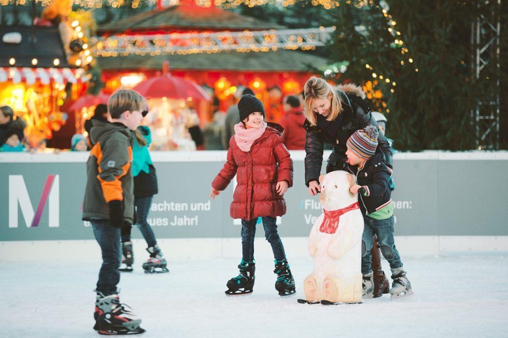 Eiskunstlauf, Flughafen, Kidner, Familie // München mit Kind