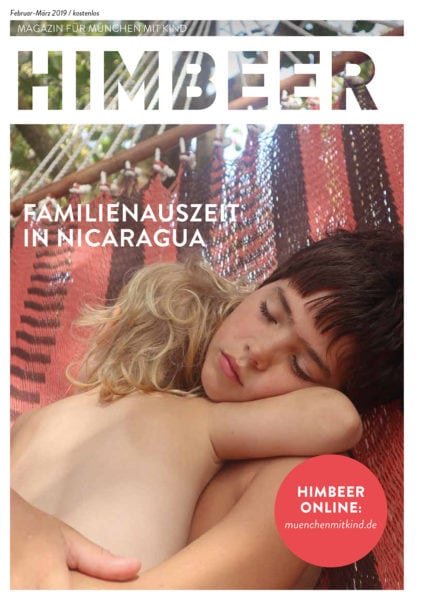 HIMBEER Magazin für München mit Kind Februar-März 2019 // HIMBEER