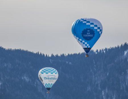 Montgolfiade Heissluftballon Tegernsee // Muenchen mit Kind