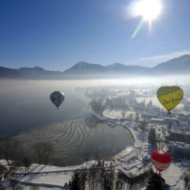 Montgolfiade Heissluftballon // Muenchen mit Kind