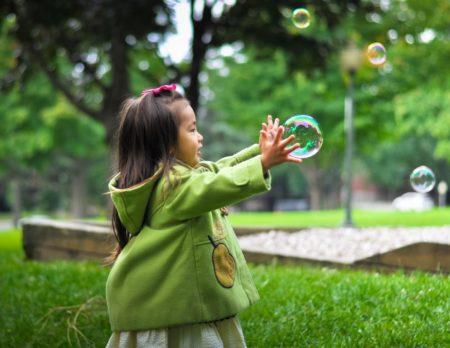 Wochenendtipps Maedchen Seifenblasen // Muenchen mit Kind