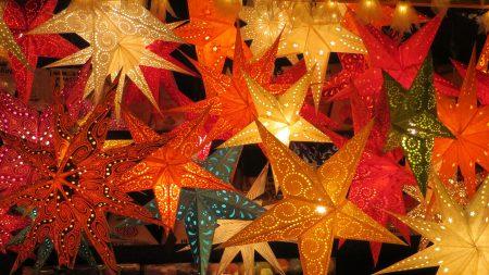 Weihnachtssterne Weihnachtsmärkte in München // HIMBEER