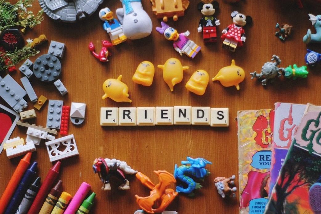 Toys, Spielzeug, Scrabble, Friends, Kleinzeig, Kinderflohmarkt, Basar // München mit Kind