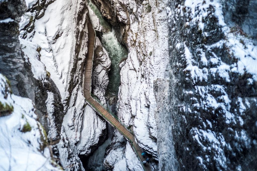 Breitachklamm im Winter // HIMBEER