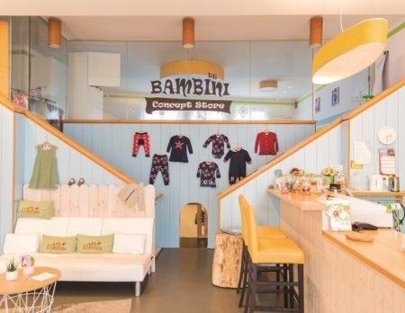 de bambini concept store, innenansicht, kurse, shopping // München mit Kind